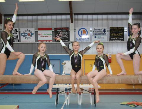 Gymnastique artistique   carton plein pour ce début de saison ae3d8a1bbf5